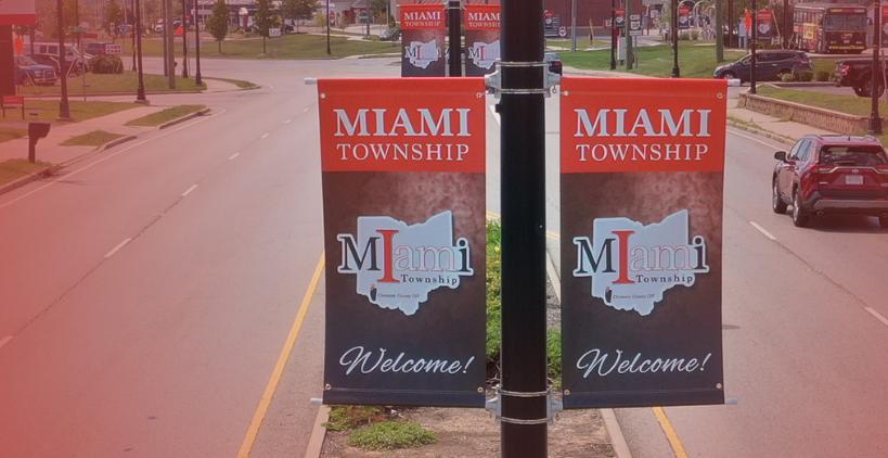Miami Township Street banner